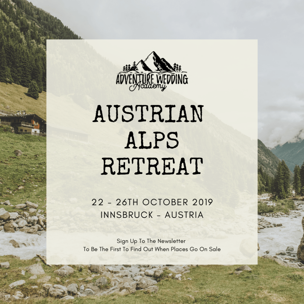 Austrian Alps Retreat Graphic