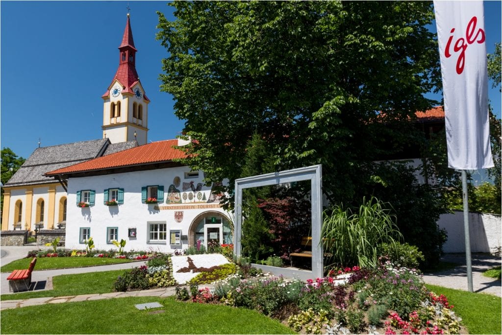 The tourist office & church in Igls by Wild Connections Photography