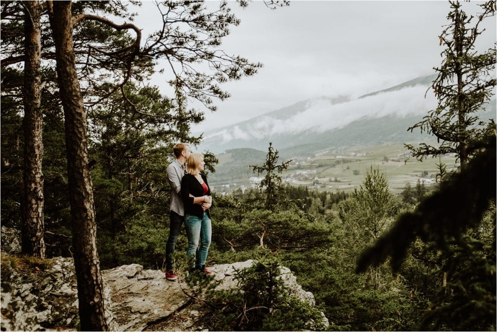 Couple shoot in Igls by Wild Connections Photography